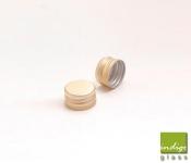 Capac aluminiu prefiletat D 18 Auriu