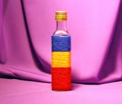 Sticla Cognac 250 ml in sfoara colorata