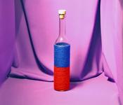 Sticla 500 ml Belissima in sfoara colorata