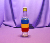 Sticla 250 ml Stof 1 in sfoara colorata