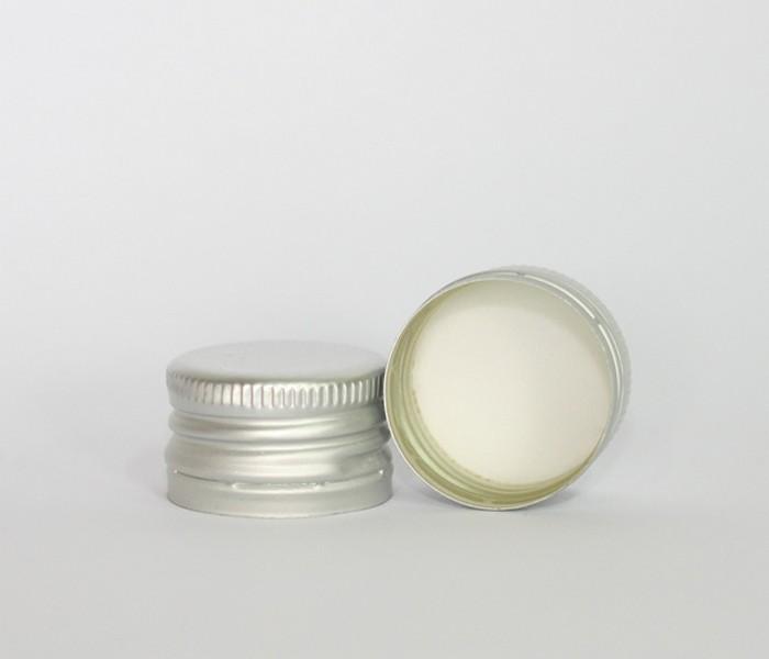 Capac alu. pref. D 28*18 mm argintiu