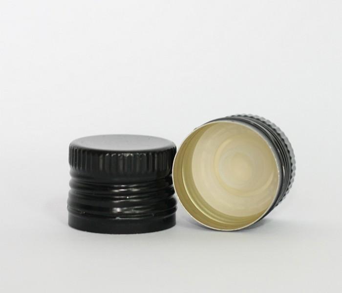 Capac alu. pref. D 31.5*24 negru