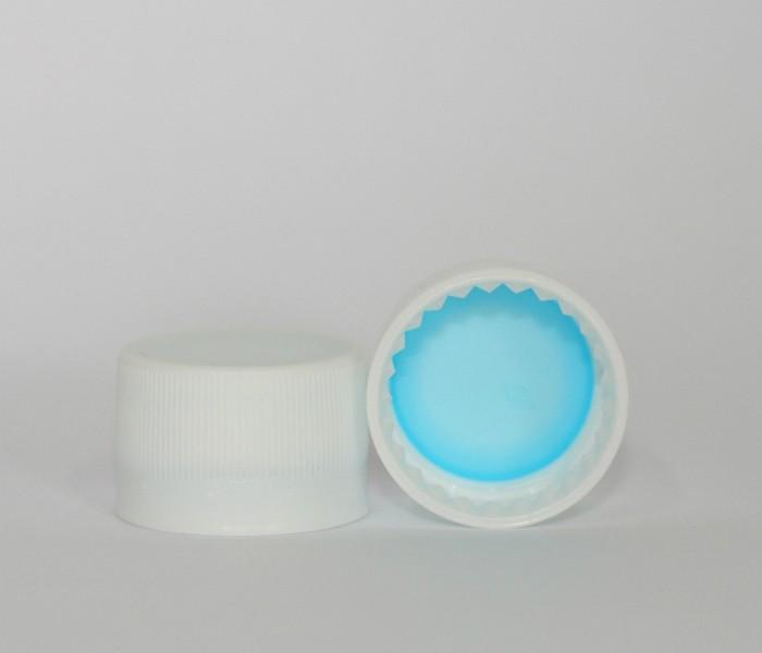 Capac plastic premium D28x18 alb