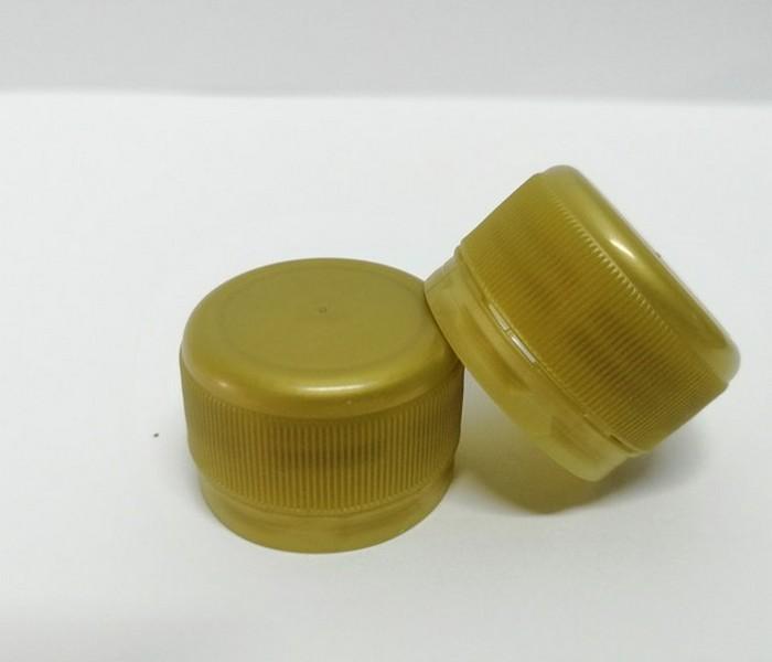 Capac plastic 28 mm filet auriu