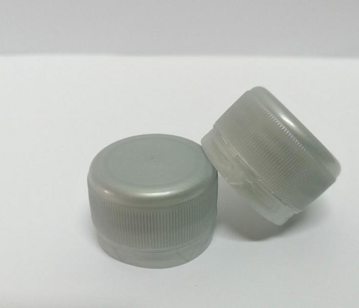 Capac plastic 28 mm filet gri