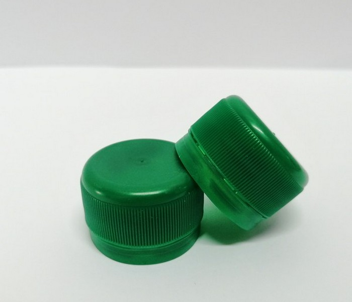 Capac plastic 28 mm filet verde